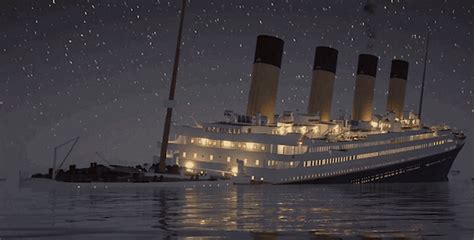 watch highly accurate simulation of the titanic sinking