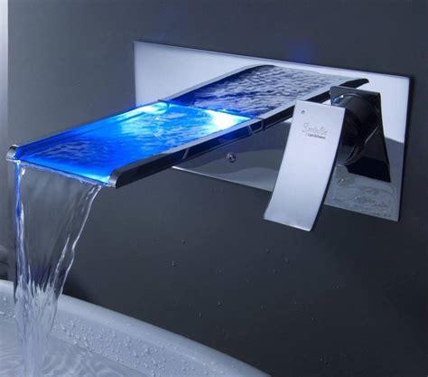 waterfall bathroom sink faucet gadget flow