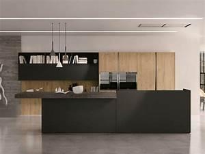 Küche Beton Holz : 20 moderne k chenm bel und minimalistische gestaltungen ~ Markanthonyermac.com Haus und Dekorationen