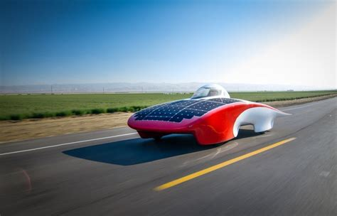 luminos stanfords solar car cleantechnica