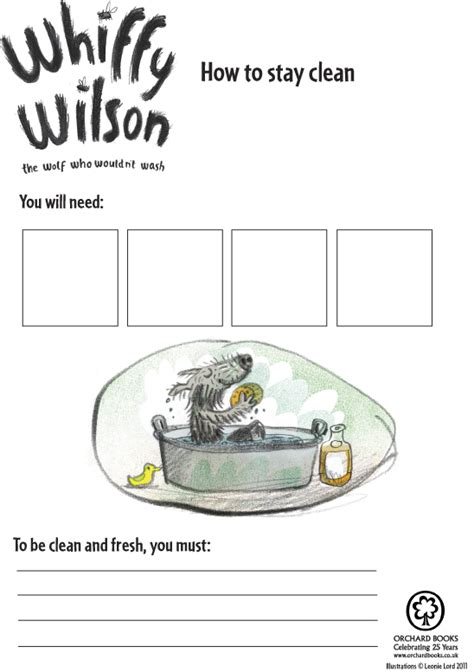 Whiffy Wilson How To Stay Clean  Scholastic Book Club