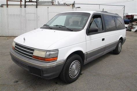 small engine repair training 1993 plymouth sundance seat position control service manual plymouth grand voyager 1993 gray plymouth grand voyager 16 used 1993 plymouth