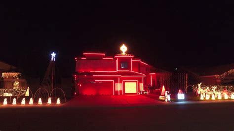 cherry lane arizona christmas lights amazing light display in gilbert az
