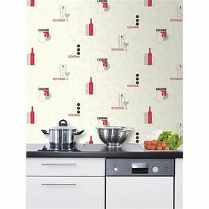 Papier Peint Cuisine Moderne : papiers peints originaux pour cuisine 20170608031418 ~ Dailycaller-alerts.com Idées de Décoration