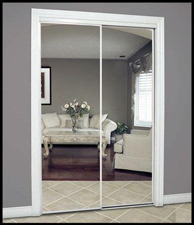 mirrored closet doors ideas  pinterest mirror