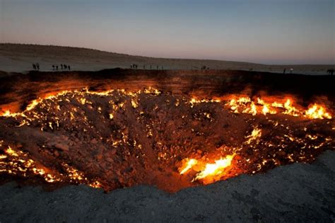 Turkmenistan Crater Has Burned For More Than Years-ny