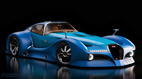 Future Cars Bugatti by Bugatti 12 4 Atlantique Concept Greenstylo