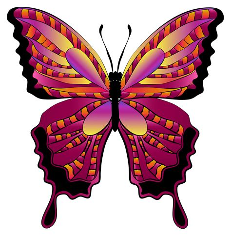 Butterfly Clip Butterfly Clipart Imageu200b Quality Hanslodge Cliparts
