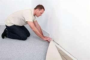 Klick Laminat Verlegen Tricks : teppichboden verlegen eine anleitung mit tipps ~ Watch28wear.com Haus und Dekorationen