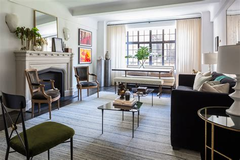 Updated New York Apartment Classic Style by A Prewar Apartment In Gramercy Park Architectural Digest