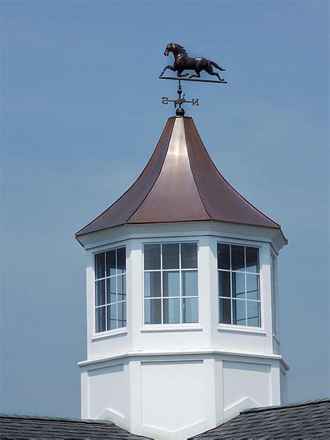 Custom Horse Barn Cupola And Weathervane  Precise Buildings