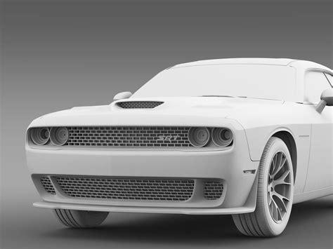dodge challenger srt hellcat supercharged  model