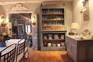 Cuisine Ancienne Campagne : d co cuisine campagne photo maison et mobilier ~ Nature-et-papiers.com Idées de Décoration