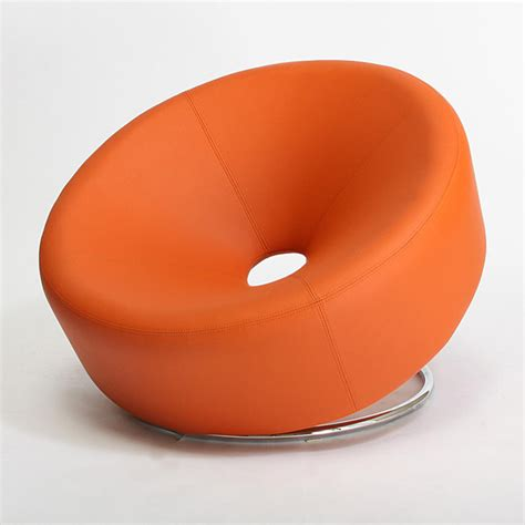 modern orange accent chair modern armchairs and