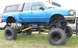 Monster Trucks Pulling Ford