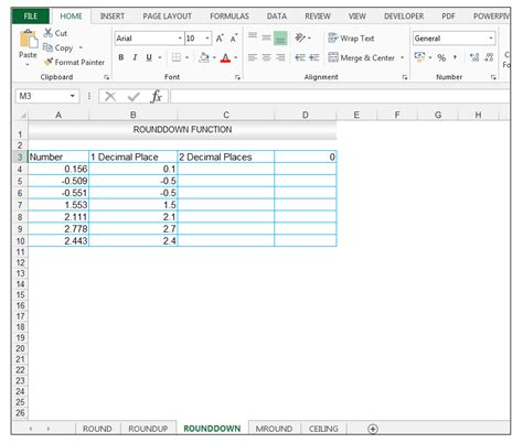 Excel Ceiling Function by How To Use Excel Roundup Rounddown Mround