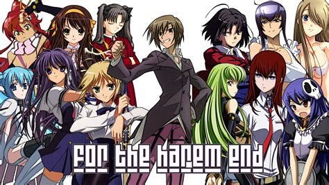 Harem Anime Wallpaper - anime fan fiction and books oh my top five anime cliche s