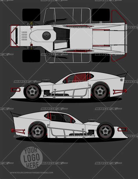 race car template asphalt modified template srgfx