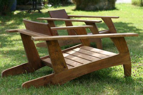 chaise de jardin bois chaise en bois de palette design annae 2017 et mobilier de