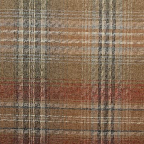 plaid drapery fabric designer discount 100 wool upholstery curtain cushion