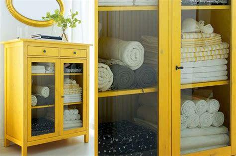Ikea Hemnes Linen Cabinet by Yellow Hemnes Linen Cabinet Ikea Hack Bathroom