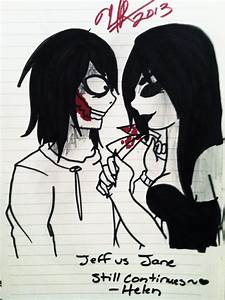 Jane vs Jeff The Killer: CONTINUES by Helen-RubiTH on ...