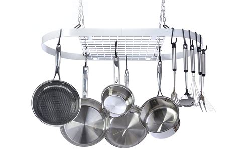 rack for pots and pans best racks for hanging pots and pans