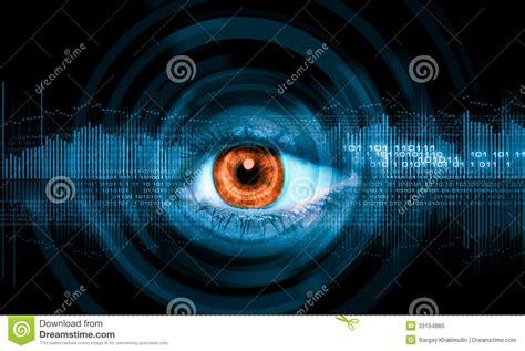 Close-up Of Human Eye Stock Image. Image Of Blue, Iris
