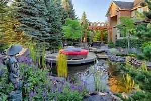 Aménager Son Jardin Avec Des Pierres. am nager son jardin en pente ...