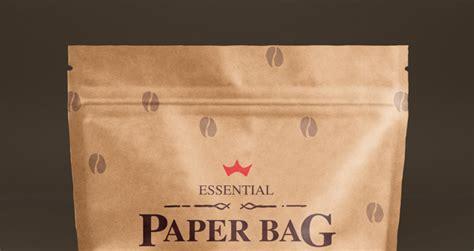 psd paper bag mock  template vol psd mock
