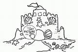 Sand Castle Coloring Pages Summer Bucket Clamshell Drawing Clam Shell Castles Template Beach Colouring Printable Clip Colour Printables Getdrawings Cute sketch template