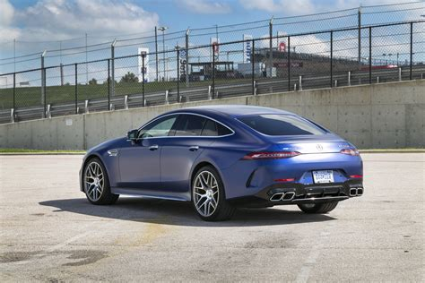 Review Mercedes Amg Gt by 2019 Mercedes Amg Gt 4 Door Coupe Review Autoguide