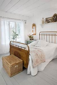 Vintage, Rustic, White, Bedroom, U2013, Decoredo