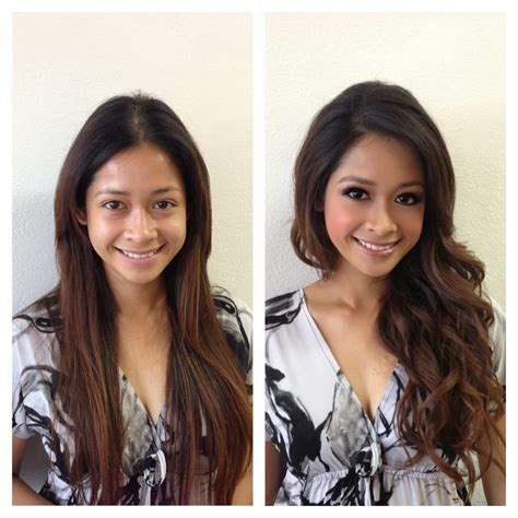 Transformation  Before And After  Asian Makeup Artist