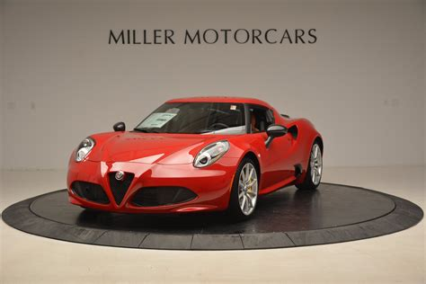 Alfa Romeo 4c Sale by 2018 Alfa Romeo 4c Coupe Stock Lw039 For Sale Near