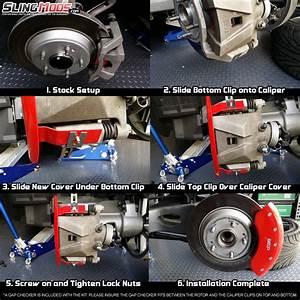 Polaris Slingshot Brake Caliper Covers By Mgp