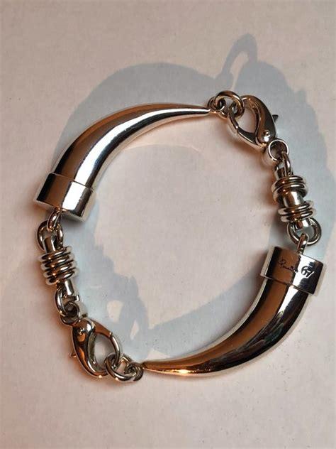bracciali pomellato argento pomellato 925 argento bracciale catawiki