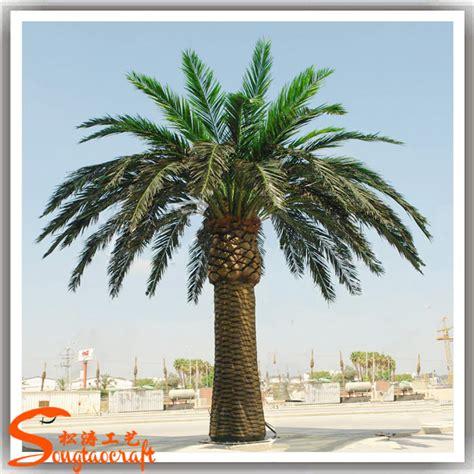 plastic fake metal palm tree  sale large artificial