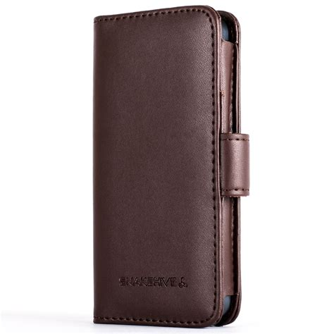 leather iphone cases snakehive 174 premium leather wallet flip cover for