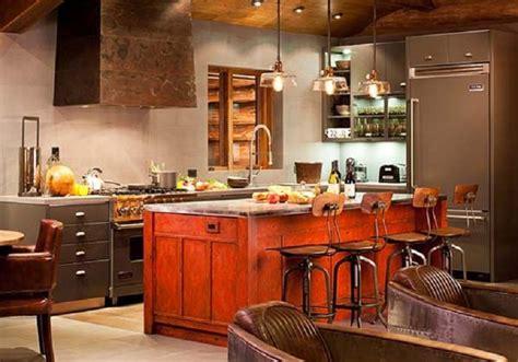 cuisine orange et gris la touche orange en décoration mooviin
