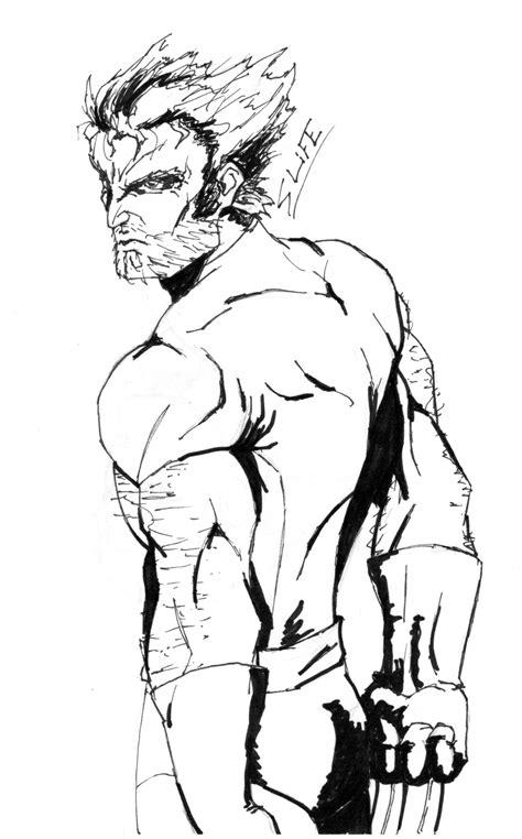 Wolverine Sketch By Jwientjes On Deviantart