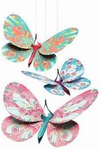 Schmetterlinge Basteln Zum Aufhängen : deko glitzer schmetterlinge zum aufh ngen mobile aus ~ Watch28wear.com Haus und Dekorationen