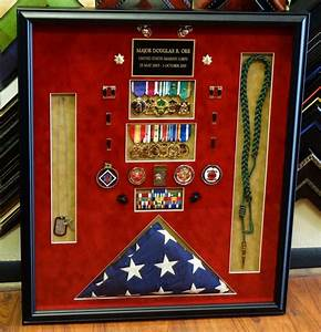 Marine Corps Shadow Box Ideas Pictures to Pin on Pinterest