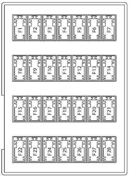 2007 Ford Fuse Box Diagram by 2007 Ford Fusion Fuse Diagram Ricks Free Auto Repair