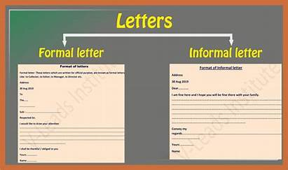 Types Letters Letter Informal Students English