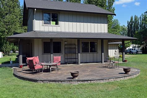 raised concrete patio cost concrete and paver patio installation in olympia and