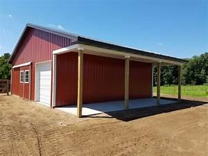 storage barns jackson county mi burly oak builders With barn builders michigan