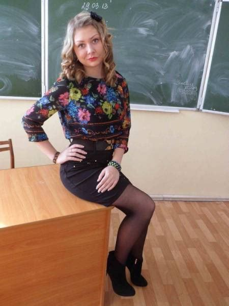 In Russia With Such Teachers You Would Go To School Even