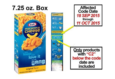 cuisine kraft kraft recalls 6 5 million boxes of mac and cheese that