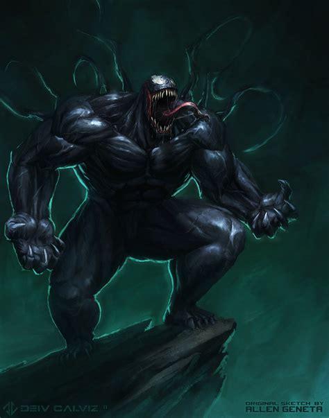 Venom Fan Art By Deivcalviz On Deviantart